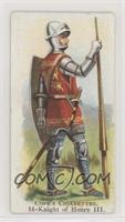 Knight of Henry III
