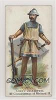 Crossbowman of Richard II [NoneGoodtoVG‑EX]