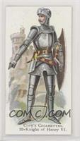 Knight of Henry VI