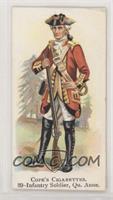 Infantry Soldier, Qu. Anne