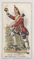 Guardsman of George I [NoneGoodtoVG‑EX]