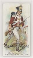 Infantry of the Line, 1837
