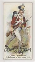 Infantry of the Line, 1837 [NoneGoodtoVG‑EX]