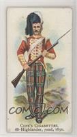 Highlander, 72nd, 1851