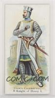 Knight of Henry I