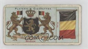 1912 Player's Countries Arms & Flags Thin - Tobacco [Base] #19 - Belgium [NonePoortoFair]
