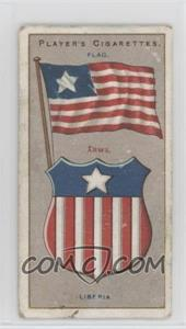 1912 Player's Countries Arms & Flags Thin - Tobacco [Base] #37 - Liberia [NonePoortoFair]