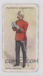 1913-14 Player's Regimental Uniforms Second Series - Tobacco [Base] - Brown Back #71 - Royal Marines: Officer 1914