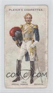 1913-14 Player's Regimental Uniforms Second Series - Tobacco [Base] - Brown Back #84 - Royal Horse Guards: Officer, 1838