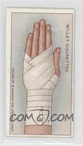 1913 Wills First Aid - Tobacco [Base] #39 - Bandage for Sprained Wrist