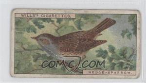 1917 Wills British Birds - Tobacco [Base] #38 - Hedge-Sparrow [GoodtoVG‑EX]