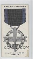 Military Cross, Greece [Good to VG‑EX]