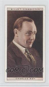 1928 Wills Cinema Stars Series 1 - Tobacco [Base] #20 - Charles Ray