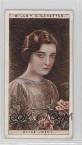 1928 Wills Cinema Stars Series 2 - Tobacco [Base] #11 - Alice Joyce