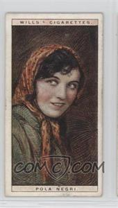 1928 Wills Cinema Stars Series 2 - Tobacco [Base] #20 - Pola Negri