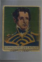 Commodore Decatur [Poor]