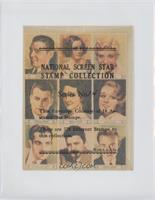 Clark Gable, Greta Garbo, Joan Marin, Reginald Denny, Hedda Hopper, Anita Page,…