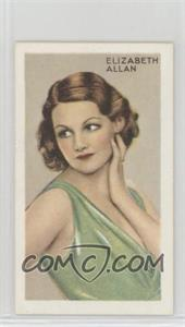 1934 Gallaher Champions of Screen & Stage - Tobacco [Base] - Blue Text #22 - Elizabeth Allan