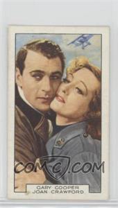 1935 Gallaher Film Partners - Tobacco [Base] #10 - Gary Cooper, Joan Crawford