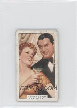 1935 Gallaher Film Partners - Tobacco [Base] #34 - Elissa Landi, Cary Grant [Good to VG‑EX]