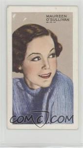 1935 Gallaher Stars of Screen & Stage - [Base] - Green Back #25 - Maureen O'Sullivan