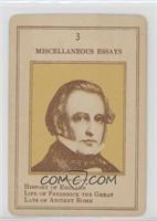 Thomas Macaulay [PoortoFair]
