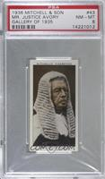 Mr. Justice Avery [PSA 8 NM‑MT]
