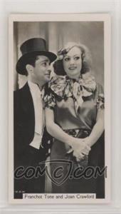 1937 Sinclair Film Stars - Tobacco [Base] #57 - Franchot Tone, Joan Crawford