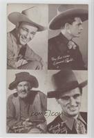 Roy Rogers, Edmund Cobb, Gabby Hayes, Earnest Tubb
