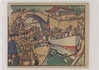 British Commander Breaks Up A Blockade [PoortoFair]