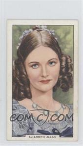 1939 Gallaher My Favourite Part - Tobacco [Base] #44 - Elizabeth Allan
