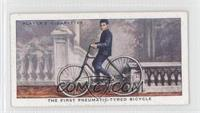 The First Pneumatic-Tyred Bicycle