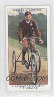 A Notable Tricyclist- F.T. Bidlake