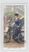 Lady Cyclist,1896