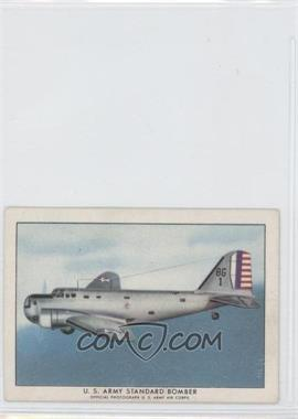 1940-42 Wings Cigarettes Series A - T87 #7 - U.S. Army Standard Bomber