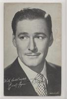 Errol Flynn (Black suit with tie) [Good to VG‑EX]