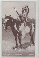 Indian Warrior of the Western Plains