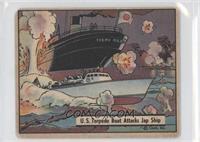 U.S. Torpedo Boat Attacks Jap Ship [GoodtoVG‑EX]