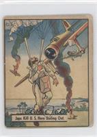 Japs Kill U.S. Hero Bailing Out [GoodtoVG‑EX]