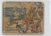 Guns Blast Corregidor Invasion [Poor]