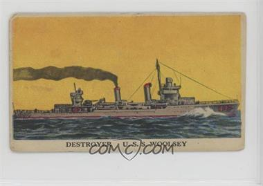 1942 Cameron Sales Warships - R169 #2 - U.S.S. Woolsey [Poor to Fair]