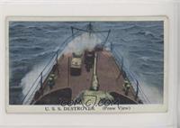 U.S.S. Destroyer (Prow View)