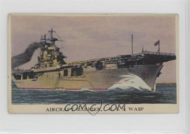 1942 Cameron Sales Warships - R169 #42 - U.S.S. Wasp [Poor to Fair]