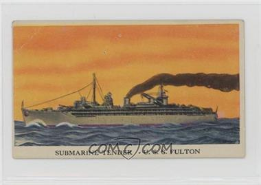 1942 Cameron Sales Warships - R169 #47 - U.S.S. Fulton [Poor to Fair]
