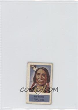 1949 Topps X-Ray Roundup - [Base] #108 - Red Cloud [GoodtoVG‑EX]