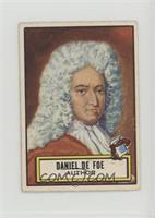 Daniel De Foe