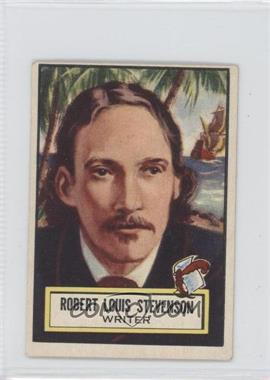 1952 Topps Look 'n See - [Base] #116 - Robert Louis Stevenson