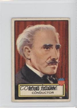 1952 Topps Look 'n See - [Base] #117 - Arturo Toscanini