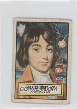 1952 Topps Look 'n See - [Base] #12 - Francis Scott Key [Good to VG‑EX]