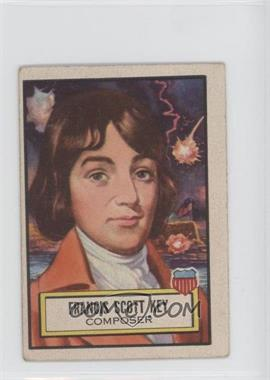 1952 Topps Look 'n See - [Base] #12 - Francis Scott Key